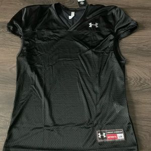 Men's Under Armour Black Jersey Size Large